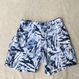 The North Face girls shorts size 16